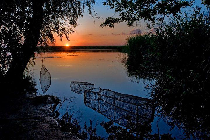 Ловля линя осенью на поплавочную удочку (2)